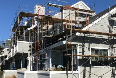 Scaffold For Residential Projects, Champion Scaffold Services Inc, Scaffolding Services